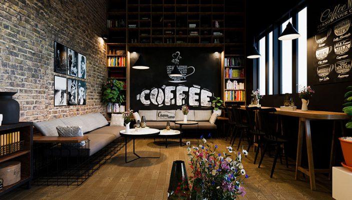 5 Ý TƯỞNG THIẾT KẾ QUÁN CAFE ĐẸP