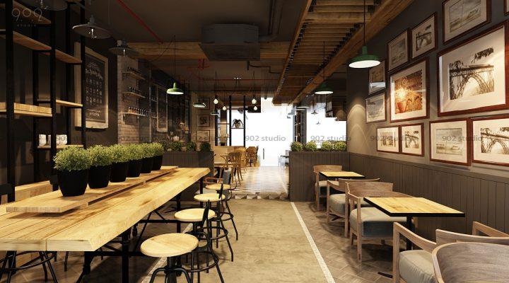 Chi phí mở quán cà phê