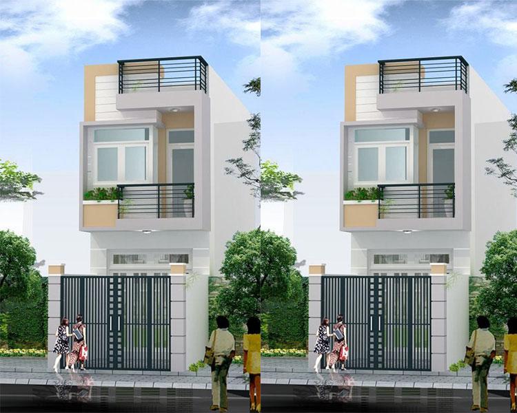 Xây dựng nhà phố từ phần thô đến hoàn thiện