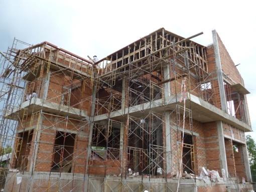 Thiết kế thi công xây dựng nhà phần thô