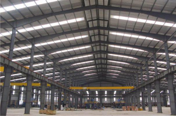 Xây dựng nhà xưởng sản xuất cho công ty
