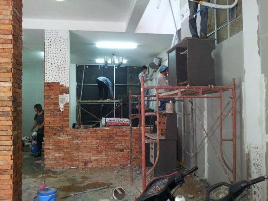 Sửa chữa quán cà phê cũ
